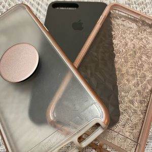 Three cases for the iPhone 8 Plus USED